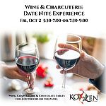 Wine & Charcuterie Fri Oct 2 seating 5:30-7pm
